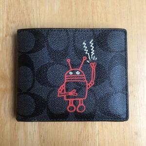 LTD edition Keith Haring Coach Wallet